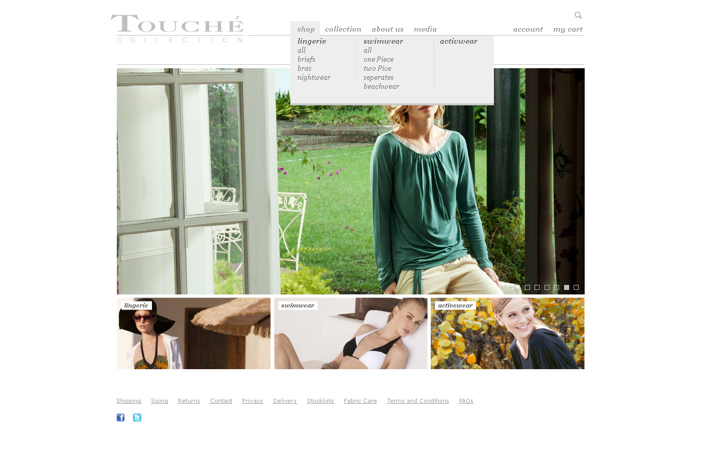 fashion shop web design melbourne