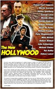 Hollywood movies promo landing page design